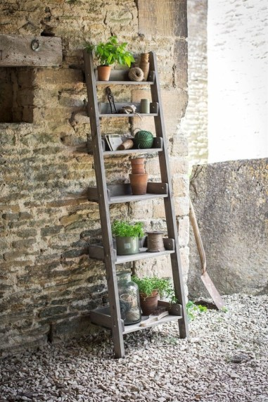 reliable step ladder shelf for plants
