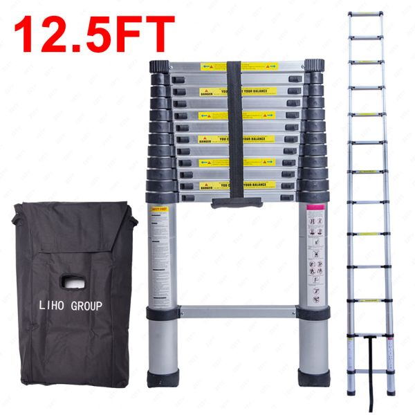 telescopic ladder ebay