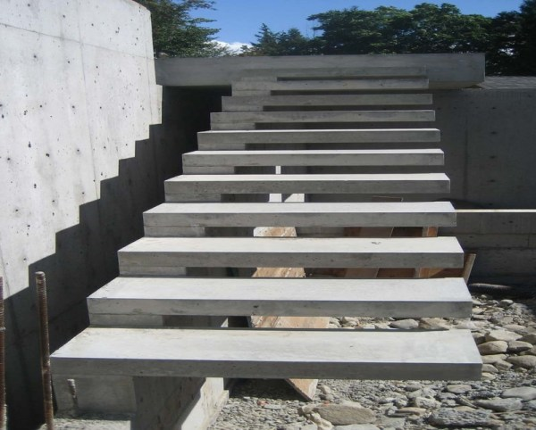 concrete stairs designs