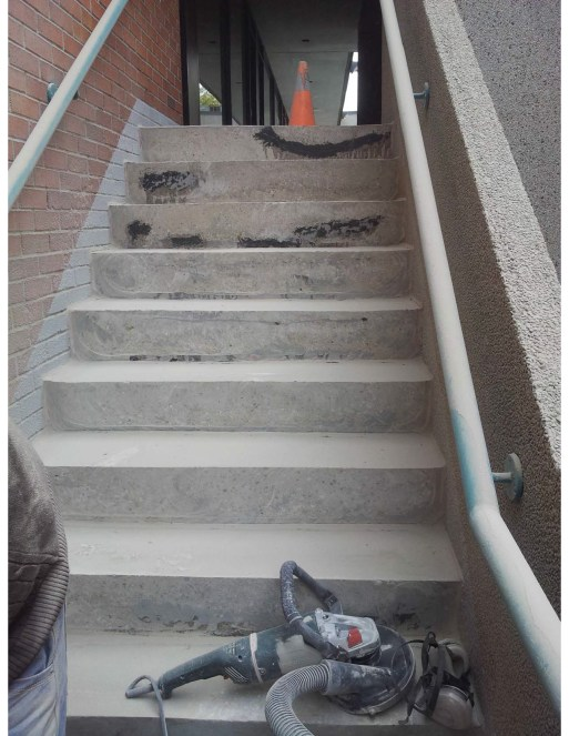 concrete stairs repair