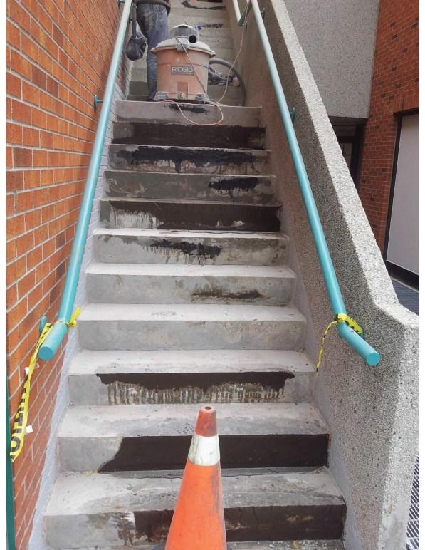 concrete stairs resurfacing