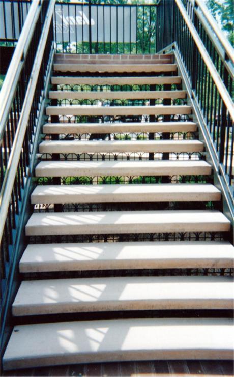 concrete step treads