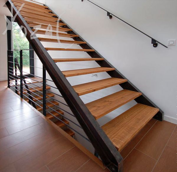 interior metal stairs design
