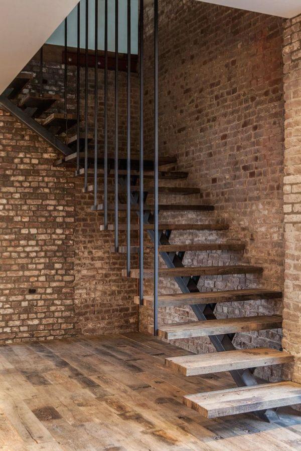 interior stone staircase
