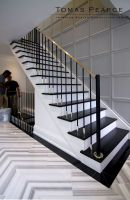 Marble stairs in the interior of the house – Staircase design
