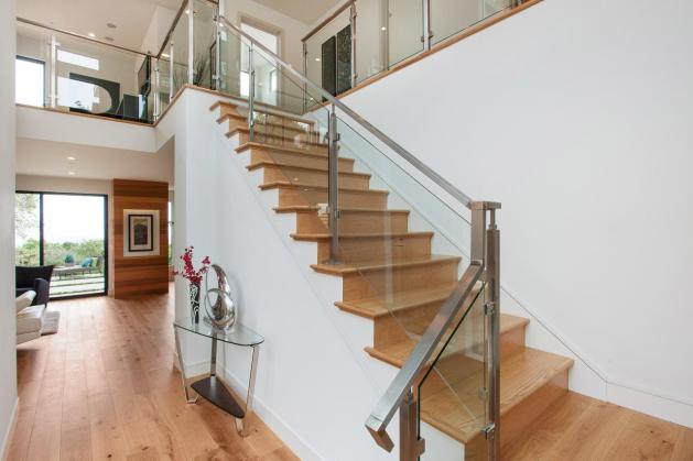modern wooden staircase designs