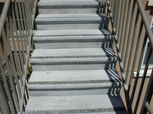 prefabricated concrete stairs