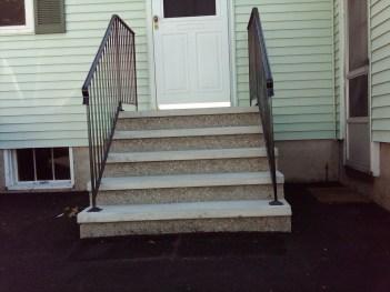 preformed cement steps