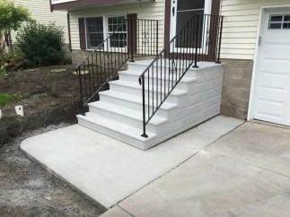 premade outdoor stairs