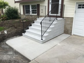 premade stairs exterior