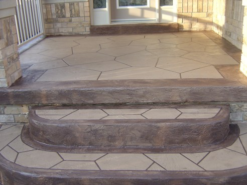 resurfacing concrete steps