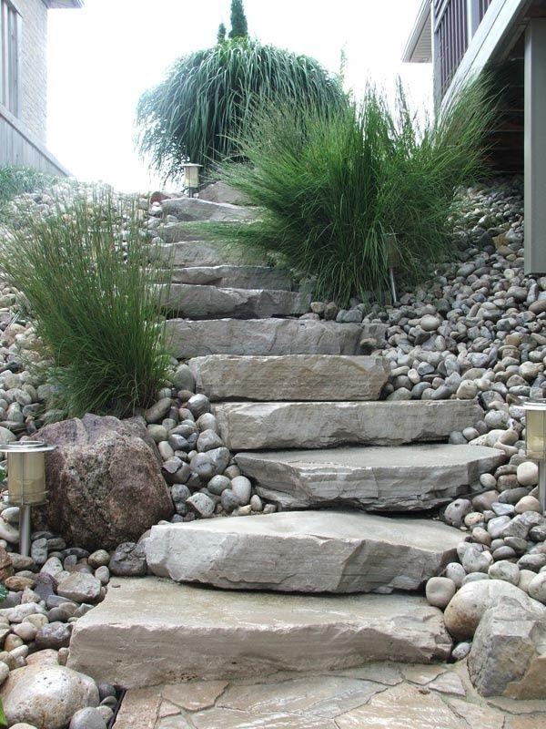 stone staircase australia