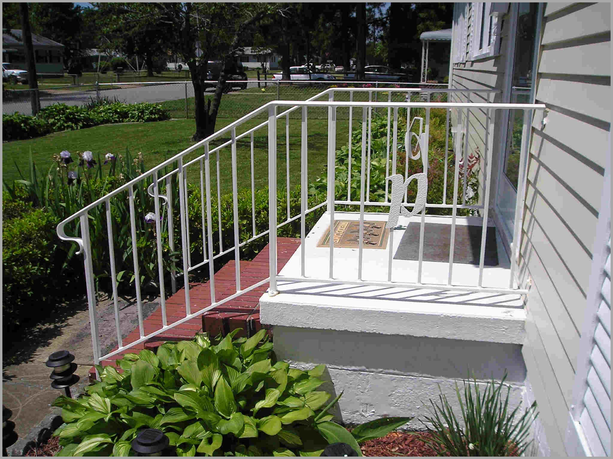 wrought iron handrails for outdoor steps 225534 Steel ...