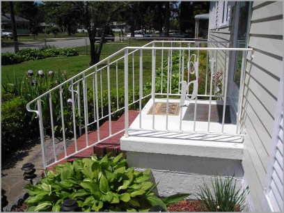 wrought iron handrails for outdoor steps 225534 Steel Railing Designs For Front Porch Gallery Also Height Deck