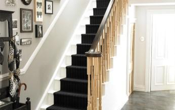ash stair newel post_3