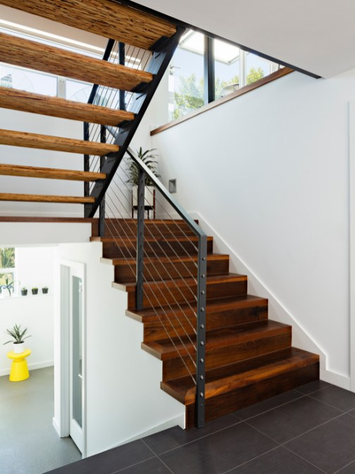 contemporary solid wood stairs_9
