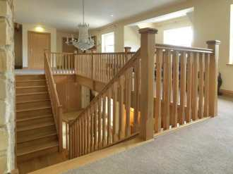 favorite wooden staircase spindles_8
