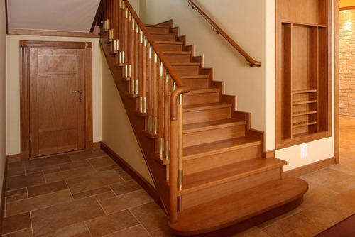 images of wooden staircase_46