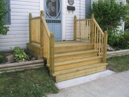 manufactured wood stairs deck porch_1