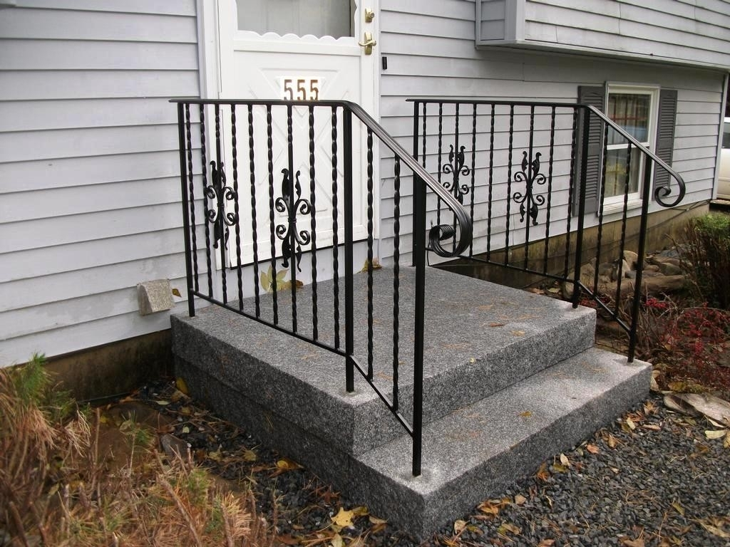 Popular Metal Outdoor Stair Railing Monmouthblues Design ...