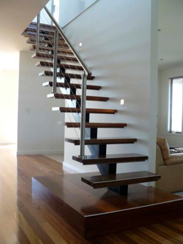 metal stairs modern design