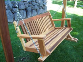 wooden porch swing images_26