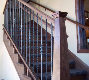 hammered vs forged iron balusters_48