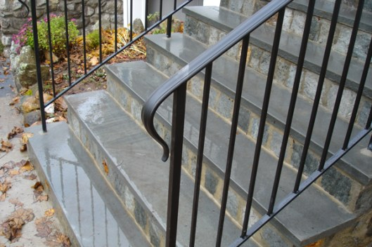 simple forged iron railings_15