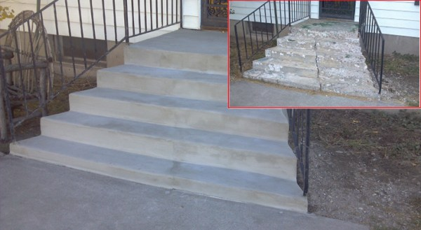 Restoration of the step angle