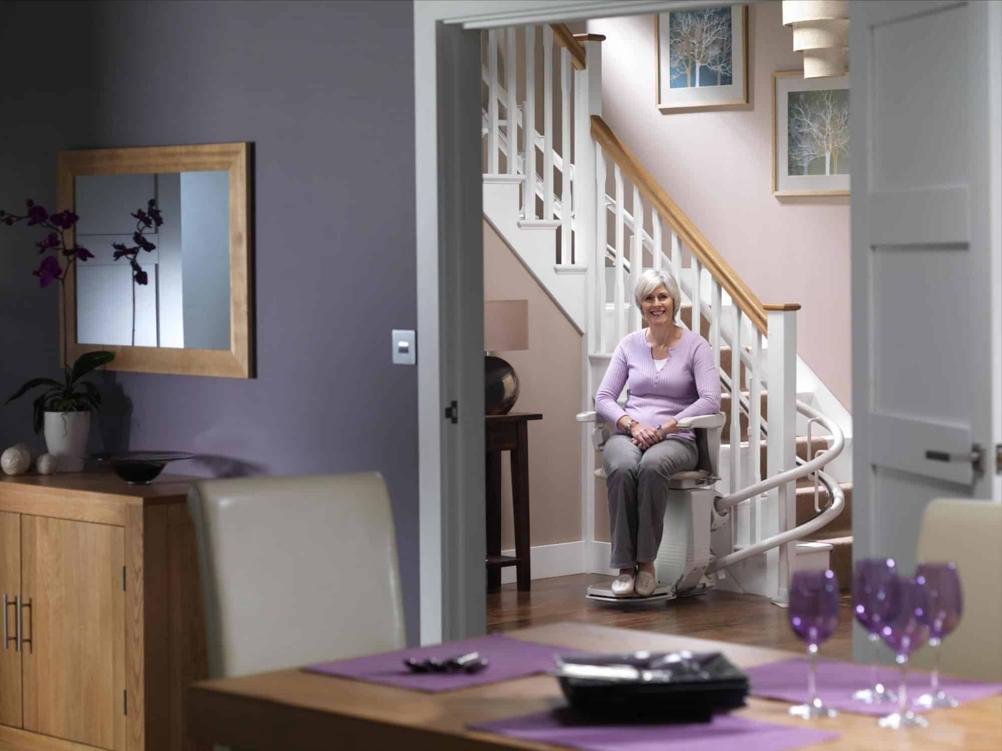 Stair Chair Lifts For Seniors Straight Or Curved Stairlifts Stair Lifts Stannah
