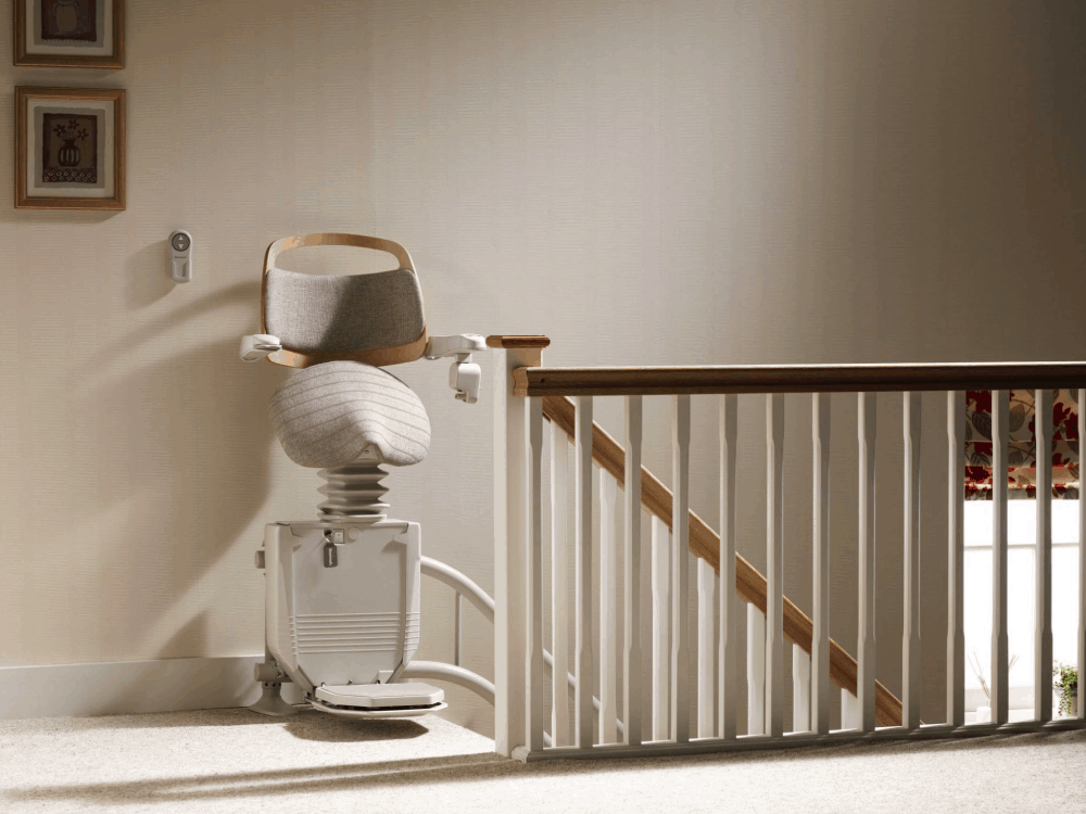 Curved Stairlifts  Stair Lifts  Stannah Stairlifts