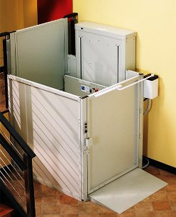 Bruno commercial vertical platform lifts vpl-3300 series Atlanta stair lifts