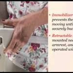 Sadler Standing Stairlift by Stannah within the Mountain West
