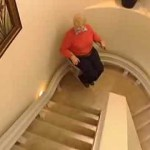 Bruno's Elite Curve Stairlift