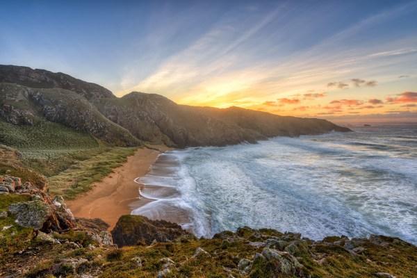 Murder Hole Beach Donegal Stair Na Ireann History Of