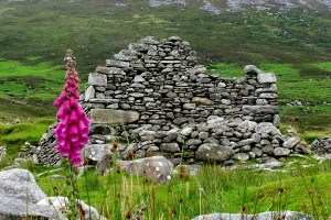 585a Famine Ghost Town Achill Island
