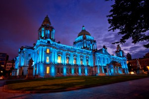Belfast-City-Hall-at-Night