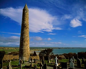 round-tower-ardmore-co-waterford-the-irish-image-collection