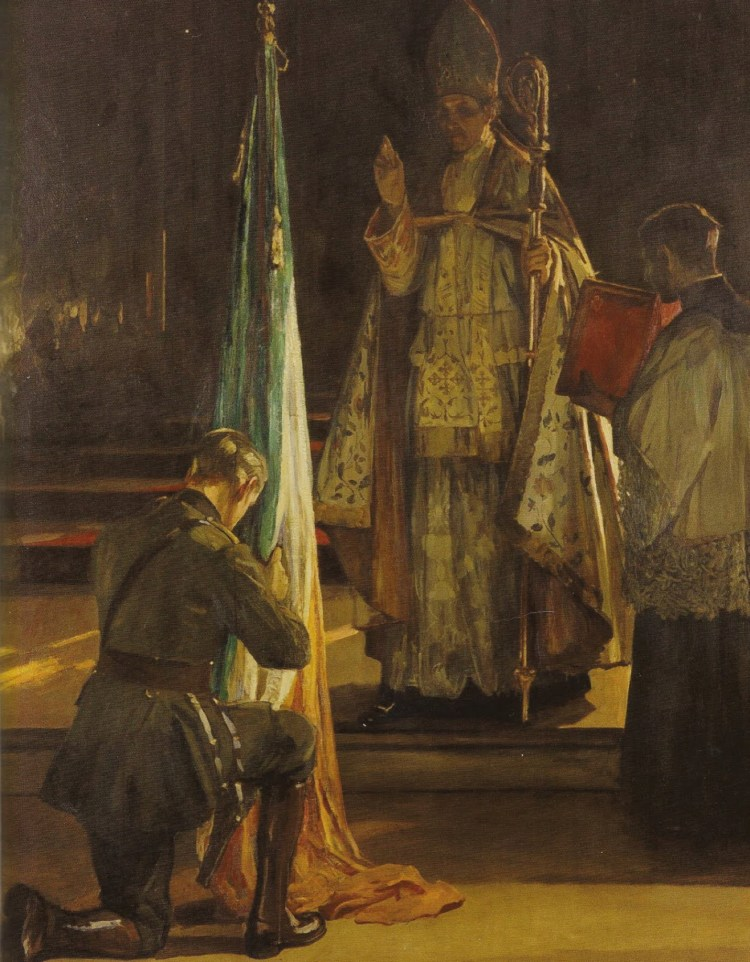 Sir-John-Lavery-Blessing-of-the-Colours