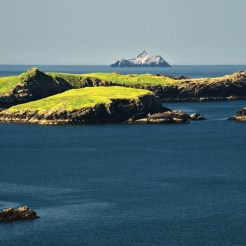 photo beautiful scenic vibrant landscape and seacape west ireland