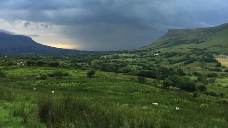 Glenade Valley towards Kinlough