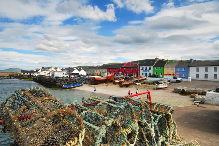 Brian McCready's winning shot of the  beautiful fishing village of Portmagee