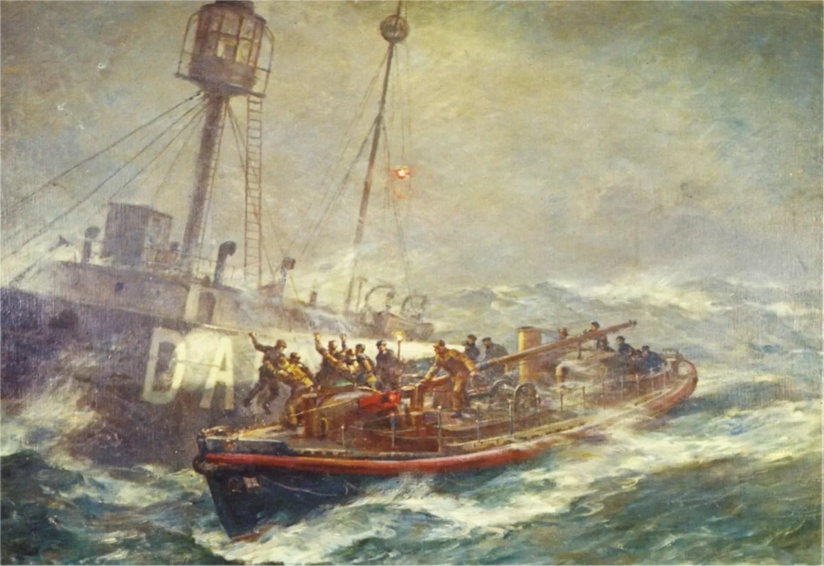 #OTD in 1936 – The Daunt Rock Rescue.