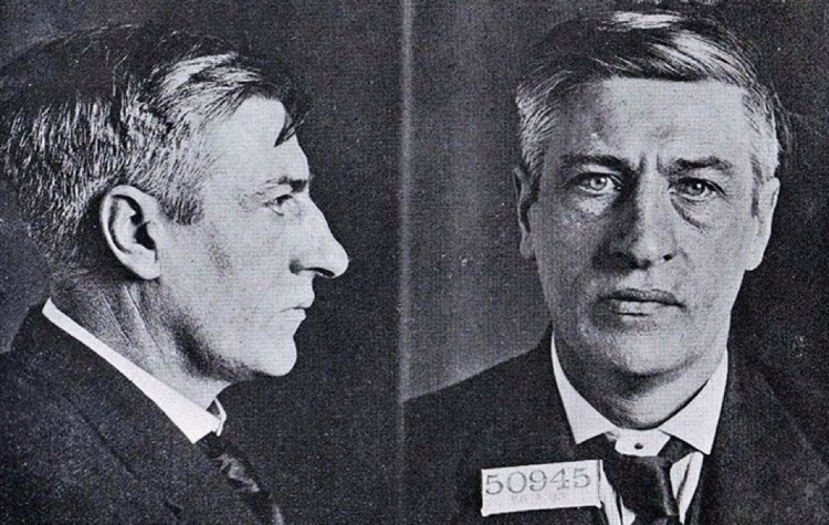 MI James larkin 1919 Chicago mugshot