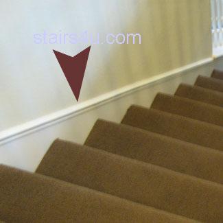 stairway skirt board qasync