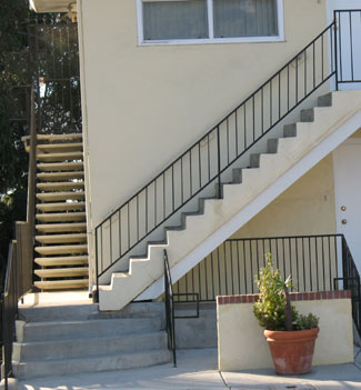 Apartment Stairs