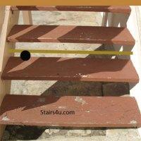 Closed Stairway Riser Options