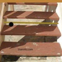 Closed Stairway Riser Options