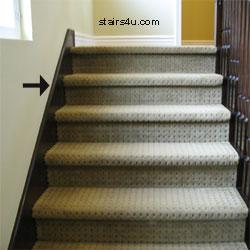 skirt board staircase finish