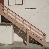 Exterior Stair Construction - How to Build Stairs